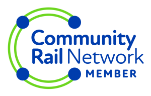 Community Rail Network member logo.