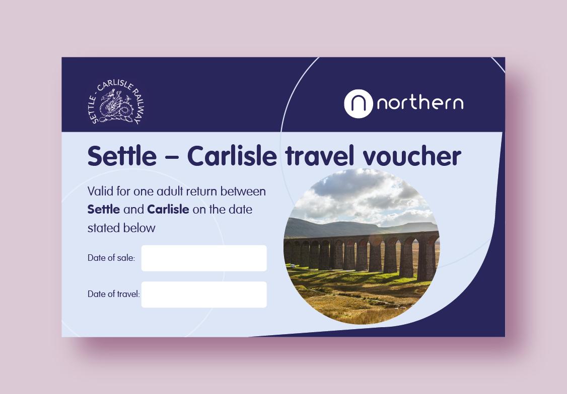 Settle-Carlisle Railway Gift Voucher