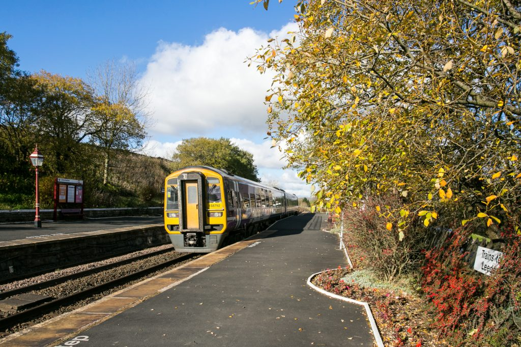 Ribblehead station in Autumn