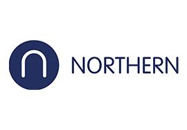 Northern Trains logo on white background